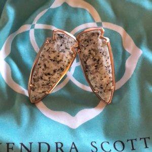 Kendra Scott granite Kathryn earrings